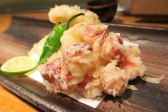 Setouchi raw octopus tempura