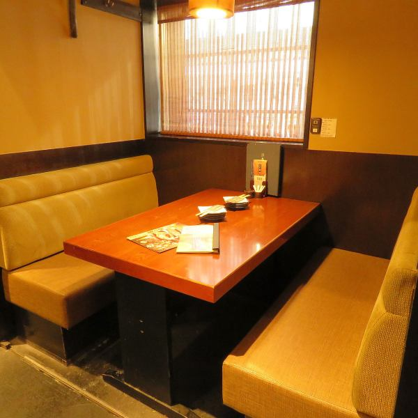 There are various private rooms that can be used by number of people in a calm Japanese-style shop!