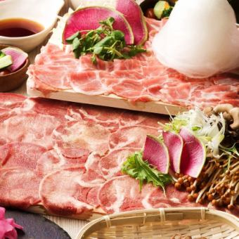Limited time 【~ 1/31】 beef & all-you-can-eat ram meat shabu + 2 hours with unlimited drink course 4500 yen ⇒ ★ 4000 yen ★