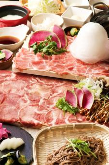 Limited time 【~ 10/31】 beef & all-you-can-eat ram meat Shabu + 2 hours with unlimited drink course 4500 yen ⇒ ★ 4000 yen ★