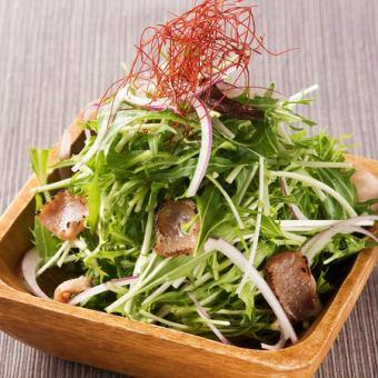 라무틱뿌과 채소의 하리 하리 샐러드