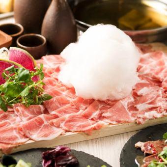 Lamb meat shabu shabu