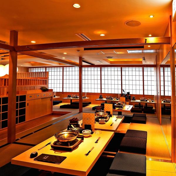 Banquet ◎ Up to 40 people available OK! It is perfect for welcome party, farewell party, year-end party! Relaxingly relaxing banquet at the tatami mat!
