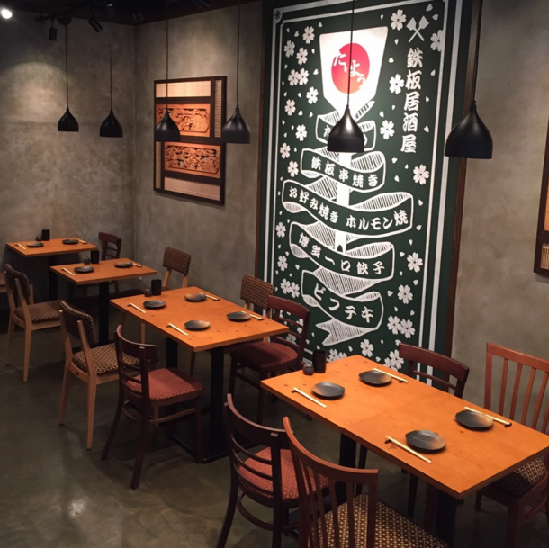 ◆ Comfortable in the Japanese style room ◆ Inside the shop, we have table, counter and dressing tables! The dressing room is a semi-private room with confidence even with small children ___ ___ 0 ___ ___ 0 【Original Sumiyoshi / Teppanyaki / Okonomiyaki / Kashikiku / Family / Banquet】