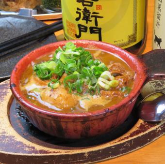 Domestic cow motomisu miso stewed braised beef braised ponkui peasant / silk breeze at Koshigaya