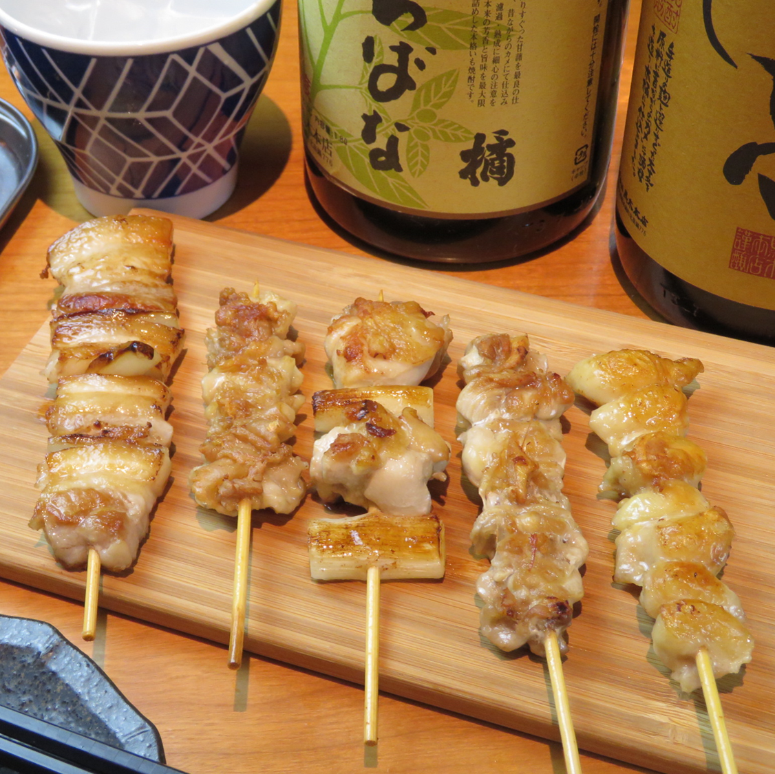 Assorted five skewers