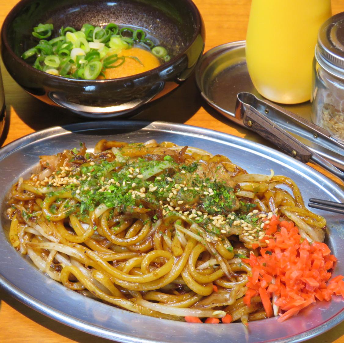 Takosso炒麵/大量的蔬菜炒麵