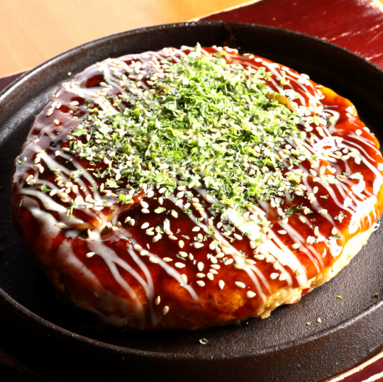 ◇ Okonomiyaki ◇ not smoldering the fragrance of the source ◇ ◆