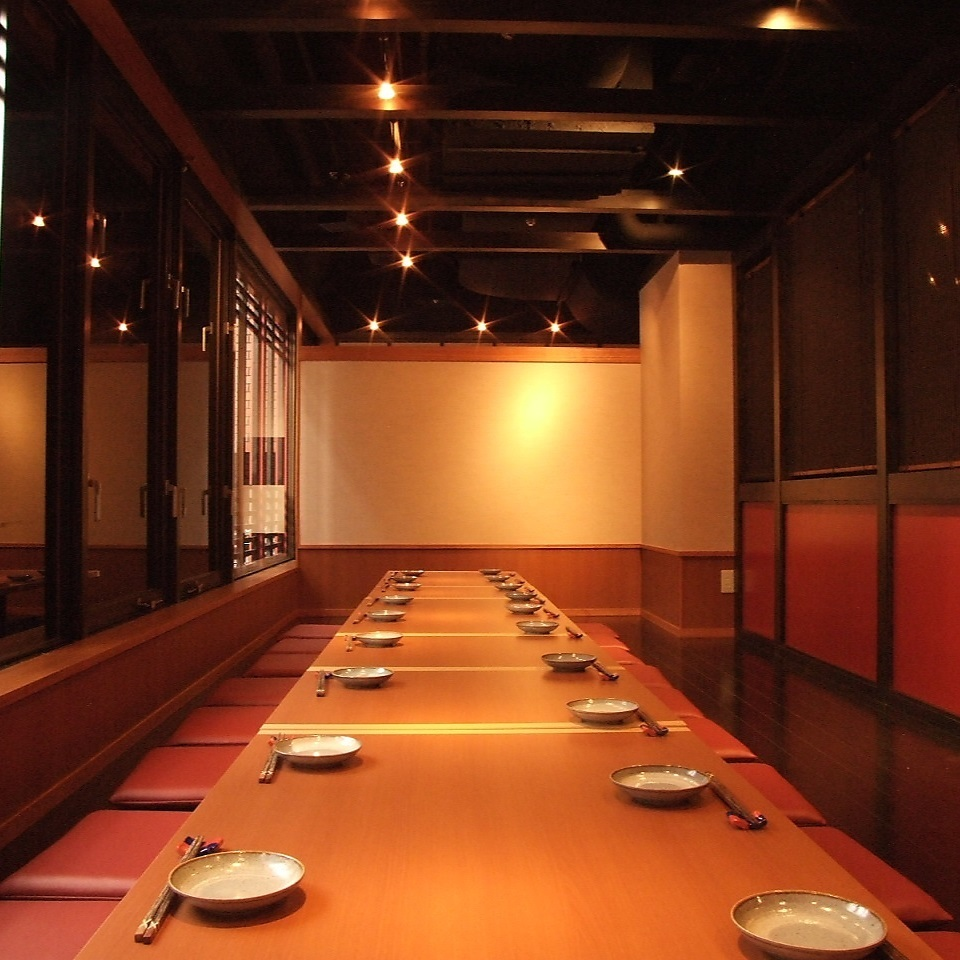 Private room that can accommodate up to 26 people.