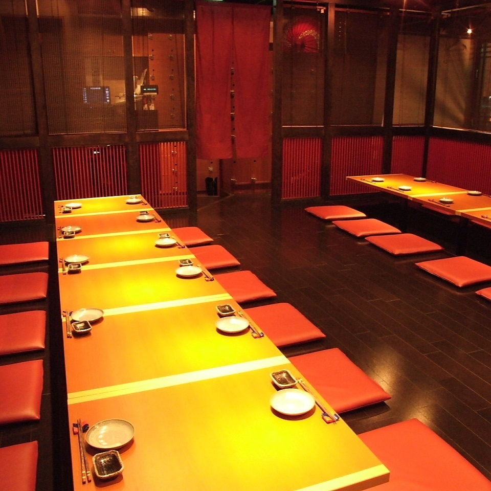 Private room that can accommodate up to 28 people.