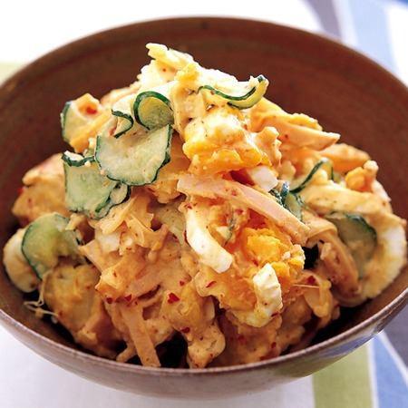 泡菜土豆沙拉