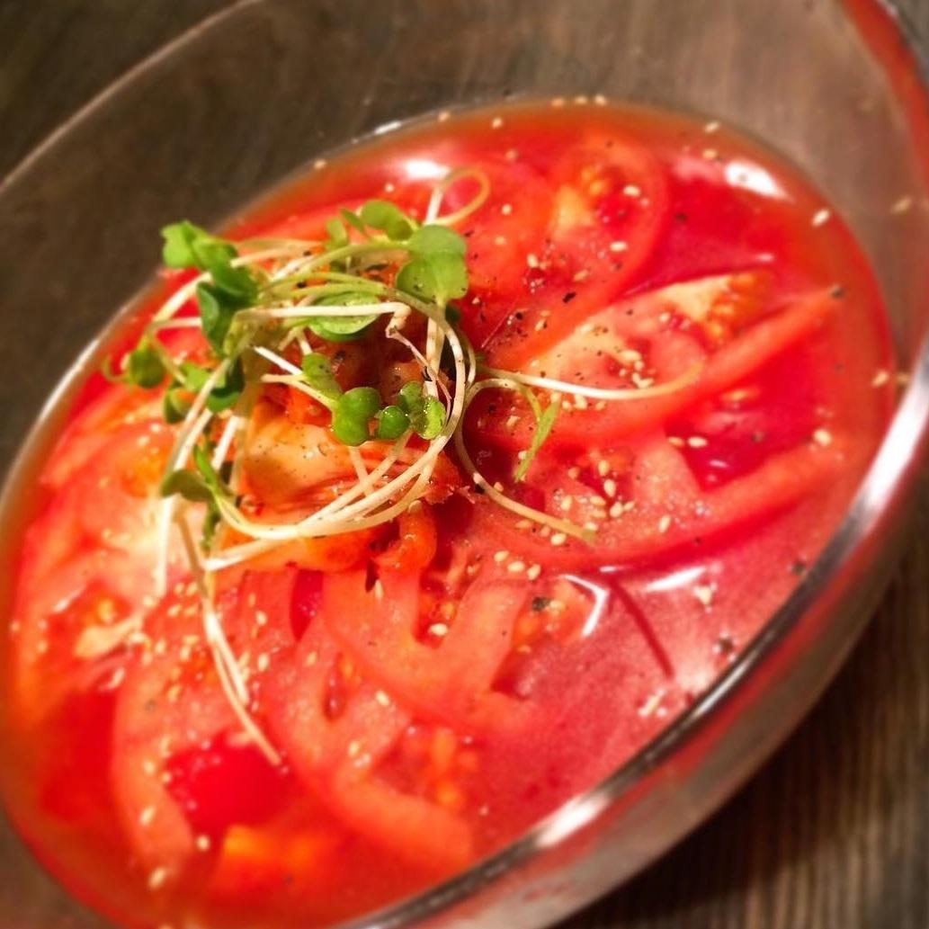 番茄泡菜冷面