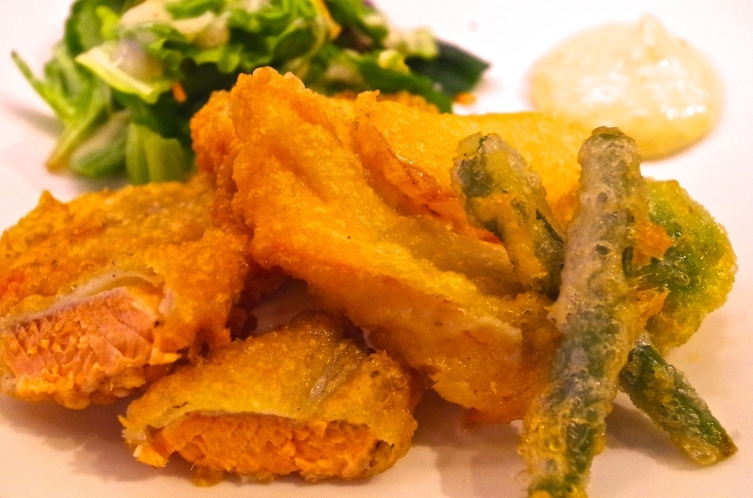Seafood frit