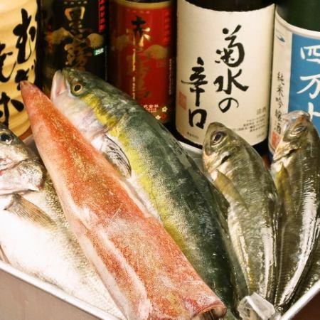 隠岐からの鮮魚
