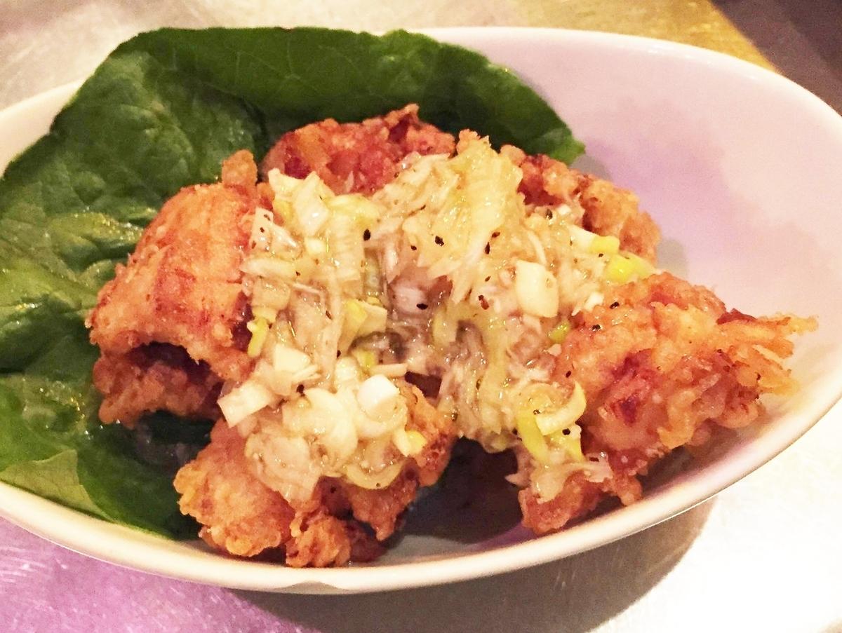 닭 튀김 (타르타르 소스)