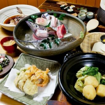 Course with unlimited drink upgrade course 8000 yen (for 4 people)