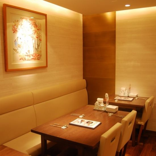 【Company banquet, girls' association, luncheon party】 The sofa seats can be 2 to 10 people!