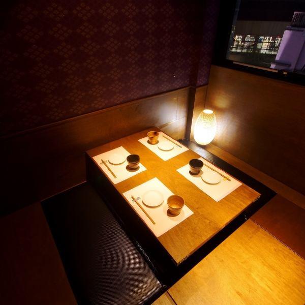 全座位全套房和日式风格现代风格,平静的氛围,充足的隐私。◎在女子协会和酒会
