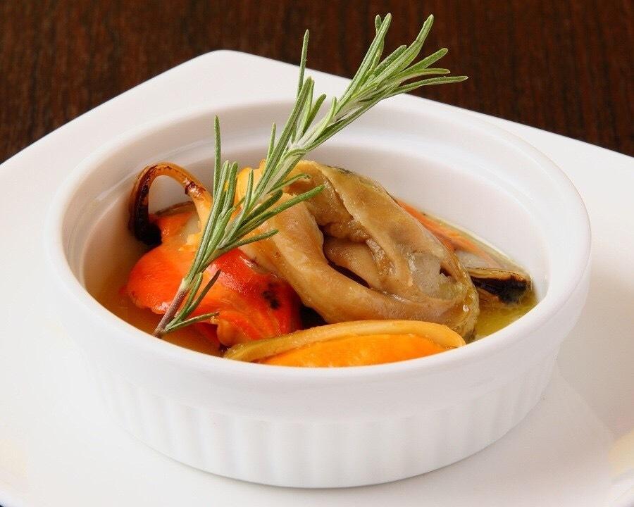 Mussel's garlic butter
