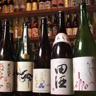 【宴会】鶏と魚と鍋の日本酒18種コース(120分日本酒飲み放題付き)  5000円