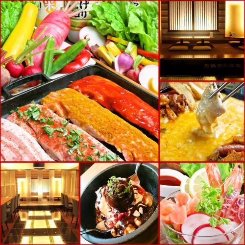 """【派对!】120分钟饮酒""""DELISAK☆受欢迎的点菜""""套餐4000日元※主要供应"""