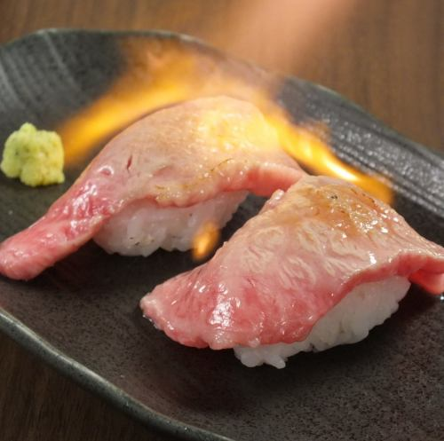 精致的肉寿司!!