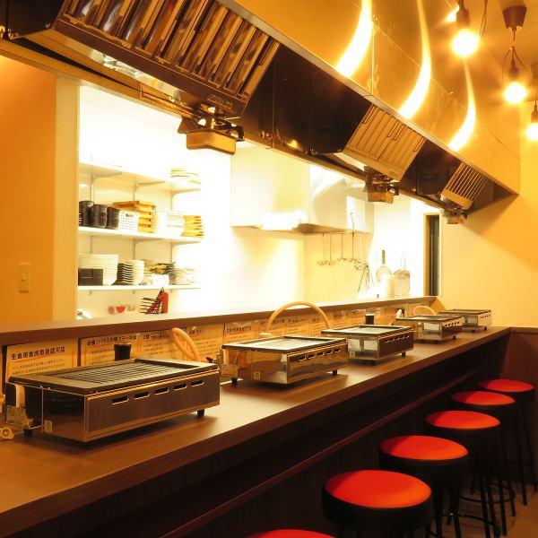 """""""Yakiniku kusu""""旨在成为一个受到年轻人和老年人喜爱的商店。我记得只能在私人商店进行的详细通信和服务。享受家人和朋友的各种场景,从情侣到宴会,美味的肉类和京都蔬菜☆我们接受年终派对的预订♪"""