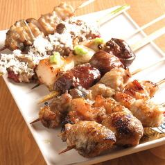 Yakitori that will suit white wine