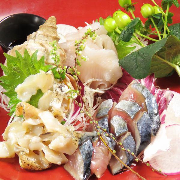 Livelihood fish carpaccio sashimi style