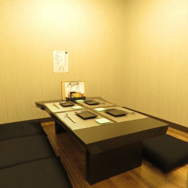 Up to 6 private rooms are prepared in the back.A little space like you just like a hiding place ... ♪