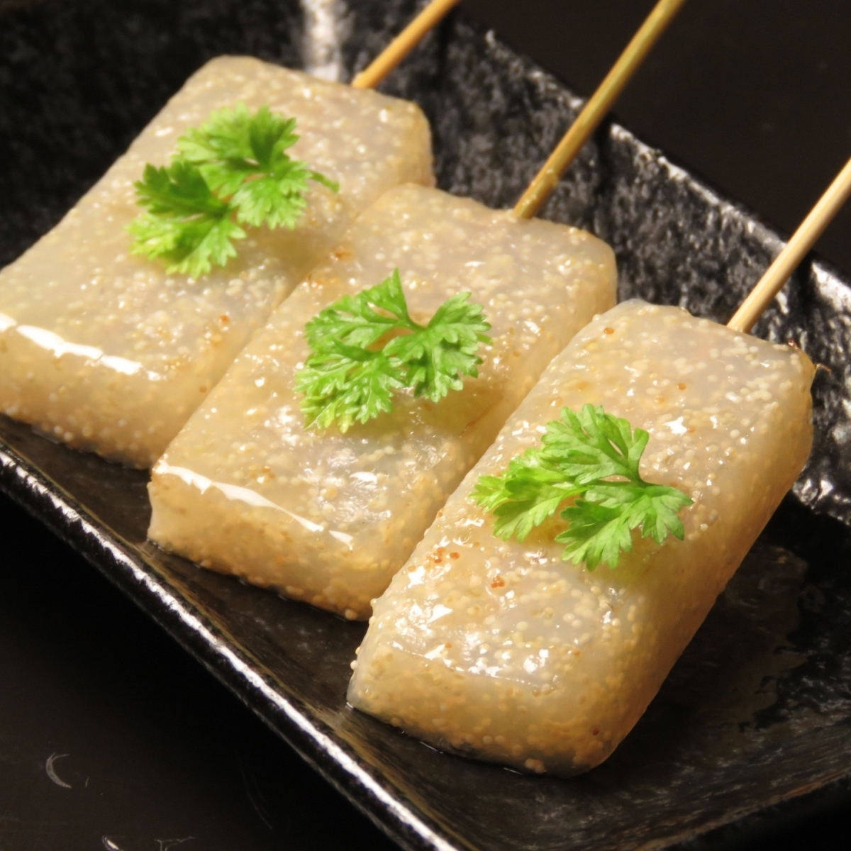 Children konnyaku / fried fried tofu