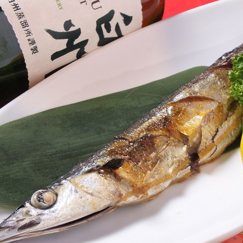 Today's grilled fish