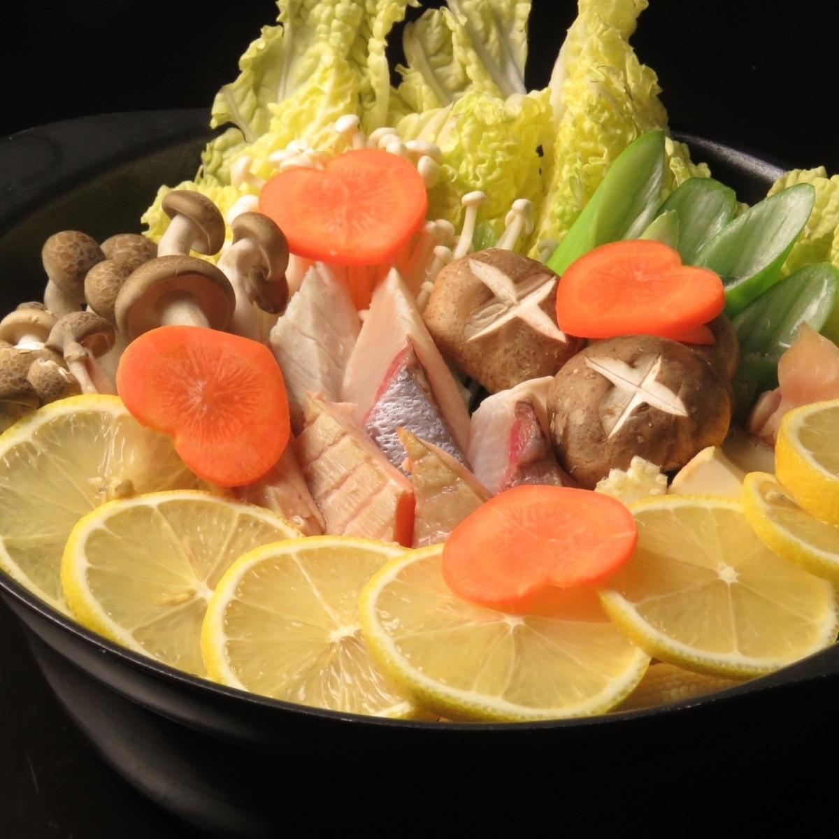 Lemon pot / water cooked