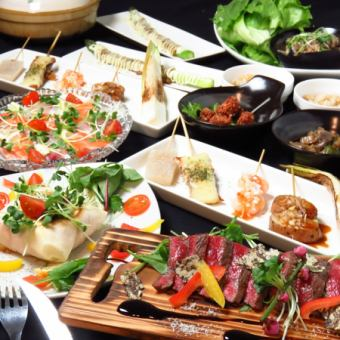 ☆ Ryukoku Special ☆ Enjoy the popular cuisine 【2 hours all you can drink】 with ⇒ 4000 yen