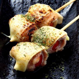 オクラ豚巻チーズ/TBC(トマト豚チーズ)/みょうが豚巻