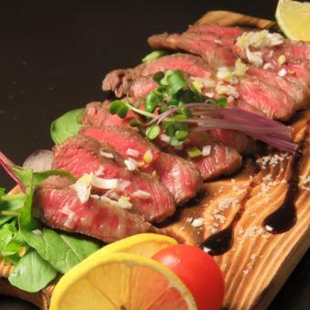 牛いちぼステーキ/牛みすじステーキ