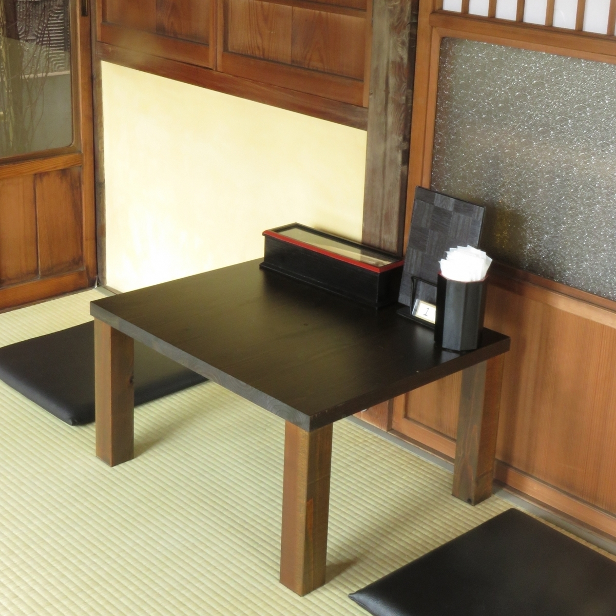 It is an institution with a smell of tatami that reminds me of my grandmother.Even with small numbers of guests ◎