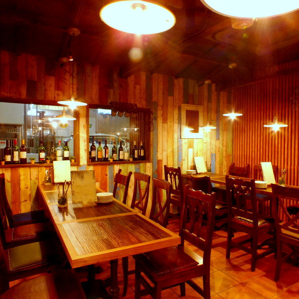【Garden Area (Smoking)】 It will be half a private room.It is possible to rent from more than 10 persons on weekdays such as a gong ten and a farewell party and more than 15 people on weekends!