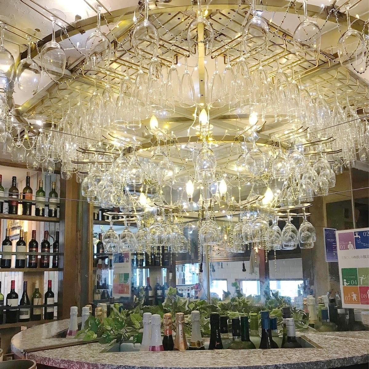 World wine buffet
