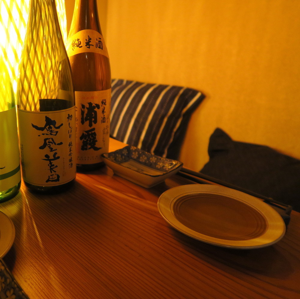 Enjoy a relaxing meal in a Japanese-style private room with a calm atmosphere.A small group can be used up to groups.How about in a party or a little drinking party?We appreciate your reservation as soon as possible.
