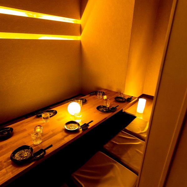 情緒溢れる個室席は渋谷での女子会・合コンにもぴったり!渋谷駅徒歩1分の好立地なので待ち合わせにも便利です♪貸切でのパーティー・二次会にもぜひご利用ください。風情あふれる個室席のそろった店内でお待ちしております◎渋谷店限定クーポン多数◎