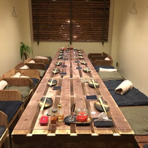 As we can move the table etc. when underground seats are reserved, please inquire by all means ★ We direct the space of healing with trees and plants.