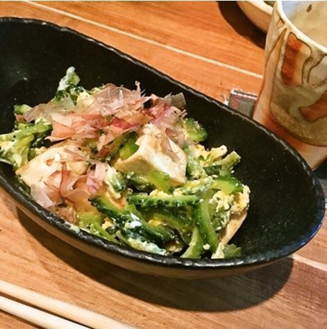 You can enjoy authentic taste with Okinawa ingredients.