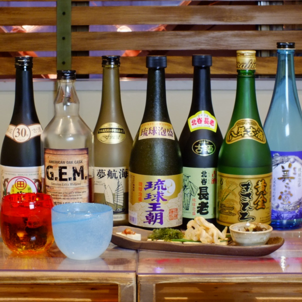 We have a variety of authentic awamori ♪ ♪