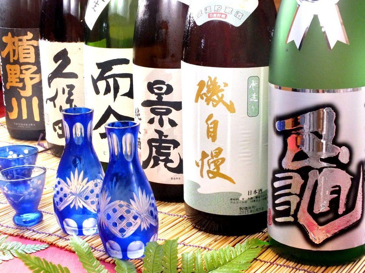 静岡の地酒はもちろん、全国の地酒を…