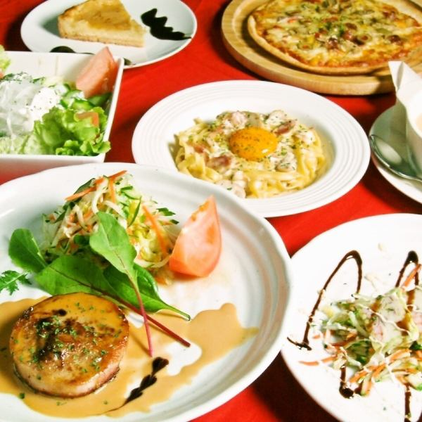 【Company Banquet!】 Hand made cuisine delicious course with unlimited drinks 4500 yen