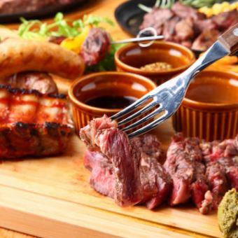 【Cospa的最強!女子協會】今晚的肉節!2小時喝自助餐女孩的聚會套餐3,480日元⇒2,980日元