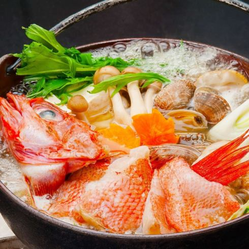 Winter season limited quinch seafood hot pot! In addition, we have plenty of delicious seafood for Hokkaido