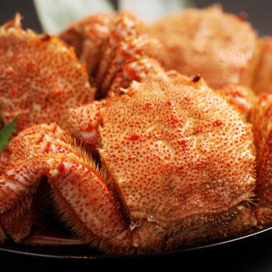 홋카이도의 해산물을 호쾌하게 즐길