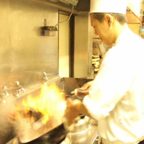 1品1品調味料からこだわった料理を堪能できる自慢の中華